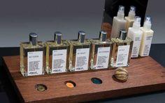 Les nouveaux parfums de la marque UERMI Fragrance Collection.