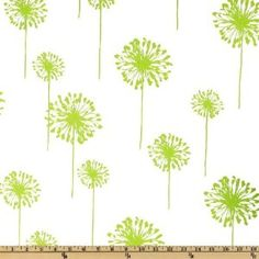 dandelion fabric and in our wedding color. Pillow for our bedroom?
