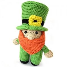 Mike the Leprechaun by FreshStitches - Featured on A Good Yarn Sarasota Blog - Luck of the Irish