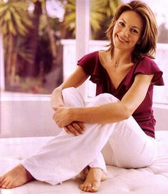 Diane Lane...always loved her..classy and aging quite gracefully.