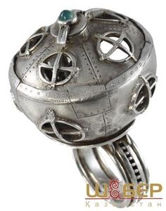 Ring by jeweler Ilya Kazakov Jewelry Ideas, Jewelry Rings, Jewelry Design, Metal Clay, Metal Art, Steampunk Rings, Steampunk Design, Inspirational Jewelry, Amulets