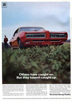 1968 Pontiac GTO Advertising Road & Track May 1968 | Flickr - Photo Sharing!