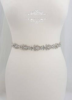 Wedding Dress Types, Luxury Wedding Dress, Wedding Dresses, Dream Wedding, Diamante Belt, Rhinestone Belt, Wedding Belts, Wedding Sash, Wedding Jewelry