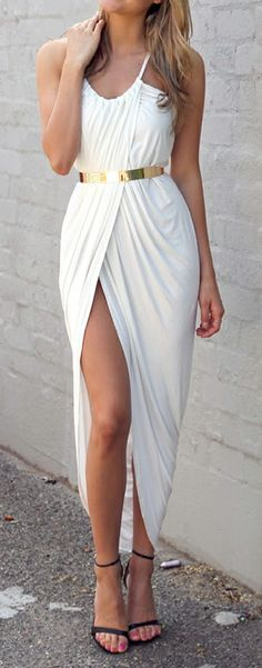 Goddess maxi (Wish I were still thin enough to wear this!!!)