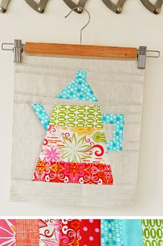 Tea Time Block by ellis & higgs from Pink Penguin's pattern :)