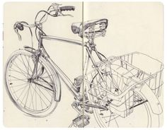 technical drawing, need this, every time I draw a bike it epically fails!