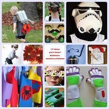 Resultado de imagen de disfraces caseros faciles y rapidos para niños