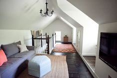Attic Renovations Before and After   from the nato's: attic renovation. before and after pictures.