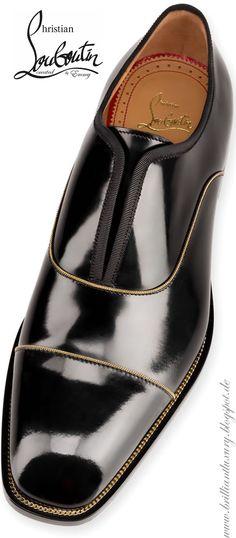 Brilliant Luxury ♦ Christian Louboutin Alpha Male Chain Flat
