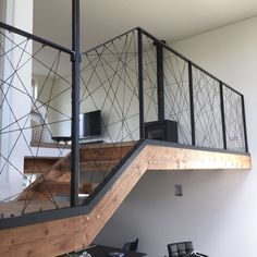 Ideas For Interior Stairs Design Loft You are in the right place about Stairs garden Here we offer you the most beautiful pictures about the cool Stairs you are looking for. Interior Stairs, Interior Architecture, Interior Design, Stairs Architecture, Loft Design, House Design, The Loft, Stair Railing Design, Railing Ideas