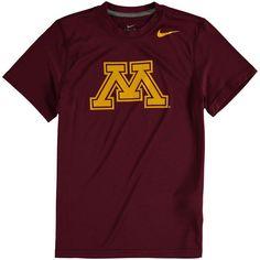 Minnesota Golden Gophers Nike Youth Logo Legend Dri-FIT T-Shirt - Maroon