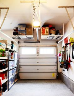 Having a one-car garage should never stop you from utilizing the garage as a storage area.