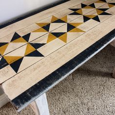 Wood Projects Image of Farmhouse Star Sofa Table - Barn Quilt Designs, Barn Quilt Patterns, Wood Projects For Beginners, Small Wood Projects, Diy Projects, Outdoor Projects, Outdoor Decor, Popular Woodworking, Fine Woodworking