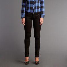 Lee®  - Scarlett Skinny Jeans Black Jeans, Skinny Jeans, Silhouette, Legs, Denim, Fitness, Cotton, Pants, Clothes