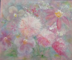 Check out this item in my Etsy shop https://www.etsy.com/listing/190302522/pink-painting-original-floral-abstract