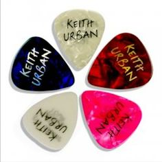 @Keith Urban guitar picks