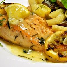 Big Ray's Lemony Grilled Salmon Fillets with Dill Sauce - Allrecipes.com #MyAllrecipes #AllrecipesFaceless #AllrecipesAllstars   So yummy!  Just do yourself a favor and double the sauce!  http://allrecipes.com/recipe/242233/big-rays-lemony-grilled-salmon-fillets-with-dill-sauce/?internalSource=search%20result&referringContentType=search%20results