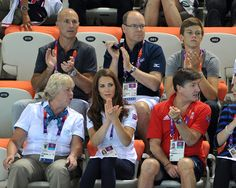 Kate Middleton Prince Albert II Photos: Olympics Day 13 - Synchronised Swimming