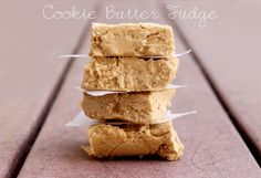 Cookie Butter Fudge...Trader Joe's List grabbed this yummy recipe from With Love Rachel blog.