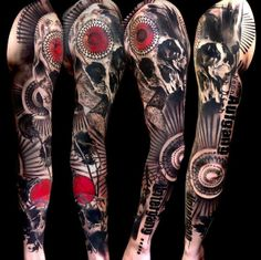 131 Best Red Black Tattoos Images Awesome Tattoos Tattoo Ideas