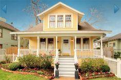 Yellow bungalow...