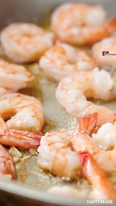 For a shrimp and pasta dish that's heartier than scampi, try this one made with a creamy mozzarella cheese sauce. For a shrimp and pasta dish that's heartier than scampi, try this one made with a creamy mozzarella cheese sauce. Shrimp Recipes For Dinner, Shrimp Recipes Easy, Salmon Recipes, Fish Recipes, Seafood Recipes, Cooking Recipes, Healthy Recipes, Meals With Shrimp, Prawn Recipes