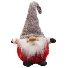<div>Add some mystical enchantment to your holiday decor with this charming gnome. This bearded ...