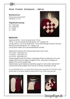 Chrochet, Knit Crochet, Christmas Gifts, Xmas, Christmas Knitting, Heart Patterns, Quilling, Needlework, Diy And Crafts