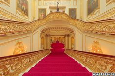 Buckingham Palace Grand Staircase - Google Search