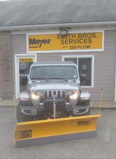 Plow For Jeep : Jeeps, Meyer, Plows, Ideas, Plow,, Jeep,, Wrangler