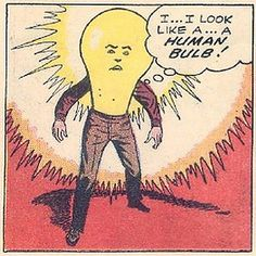 ...like a... a HUMAN BULB! by P-E Fronning, via Flickr