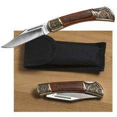 Engraved John Deere Lockback Pocketknife - Groomsmen gifts