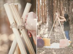 Today I have such a fun and adorable lace teepee DIY! We used this DIY for my most recent Valentines collection photo shoot and it turned out great! I am excited to share this with you and hope that you enjoy it as much as we did. Supplies needed: - (4) 6 foot dowels, with a hole drilled in 3-4&qout; fro…
