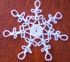Starlight Snowflake 2010 free pattern