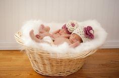 Beautiful Newborn Twin Girls