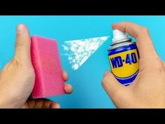 18 ÚŽASNÝCH NÁPADŮ S WD-40 - YouTube Birthday Room Decorations, Drying Room, Wd 40, Homemade Cleaning Products, Diy Kitchen Decor, Diy Cleaners, Useful Life Hacks, Good Advice, Preschool Crafts