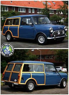 Mornin Miniacs How about this Woody for a great start to the Saturday Stunner show? Beautifully finished and a gorgeous colour! Have a great day folks Mini Countryman, Mini Clubman, Mini Coopers, Classic Mini, Vans Classic, Austin Cars, Toyota Mr2, Cute Cars, Small Cars