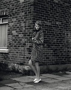 Leopard coat. Self Service Magazine 35
