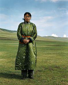 Green on green . Mongolia