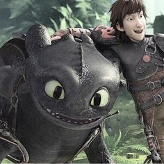Peg leg and toothless :)