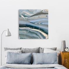 Discover «blue hue», Limited Edition Canvas Print by Renee Jones - From $75 - Curioos