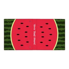Fun Watermelon Binder