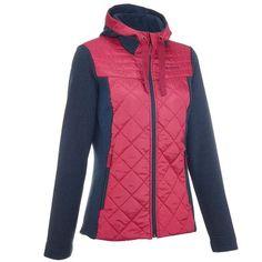 Deportes de Montaña Deportes de Montaña - jersey Arpenaz Hybrid mujer azul  rosa QUECHUA - Travesía da389bbda71