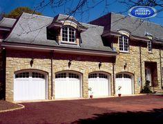 Heritage Classic Model E308C Wood Garage Doors
