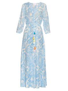 Up From The Skies tassel maxi dress   Athena Procopiou   MATCHESFASHION.COM