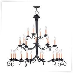 Livex Heritage 4449-04 24-Light Chandelier