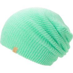 Shine bright with a hit of fresh color in your outfit with the Empyre girls Piper mint speckle beanie. Warm up while looking your best in the all-acrylic bright mint speckle colorway, ribbed knit slouch construction, and an Empyre brand tag on the hem for extra style.