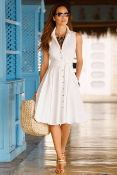 Looking for deals on clothing, accessories & more? Shop Boston Proper for the latest fashion looks for less. Cute Dresses, Casual Dresses, Fashion Dresses, Summer Dresses, Curvy Women Fashion, Look Fashion, Classy Outfits, Casual Outfits, Unique Clothes For Women