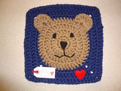 Ravelry: aizome's Funny Face Square