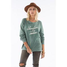 Billabong - Shore Side Sweatshirt – SurfGirl Beach Boutique - A Treasure Chest for Surf Girls